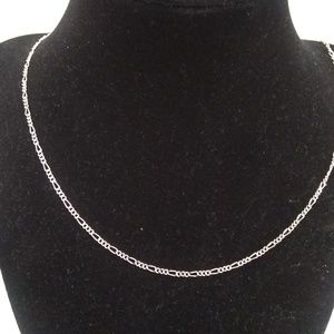 "Jewelry - Vintage sterling silver link chain 30"" necklace"